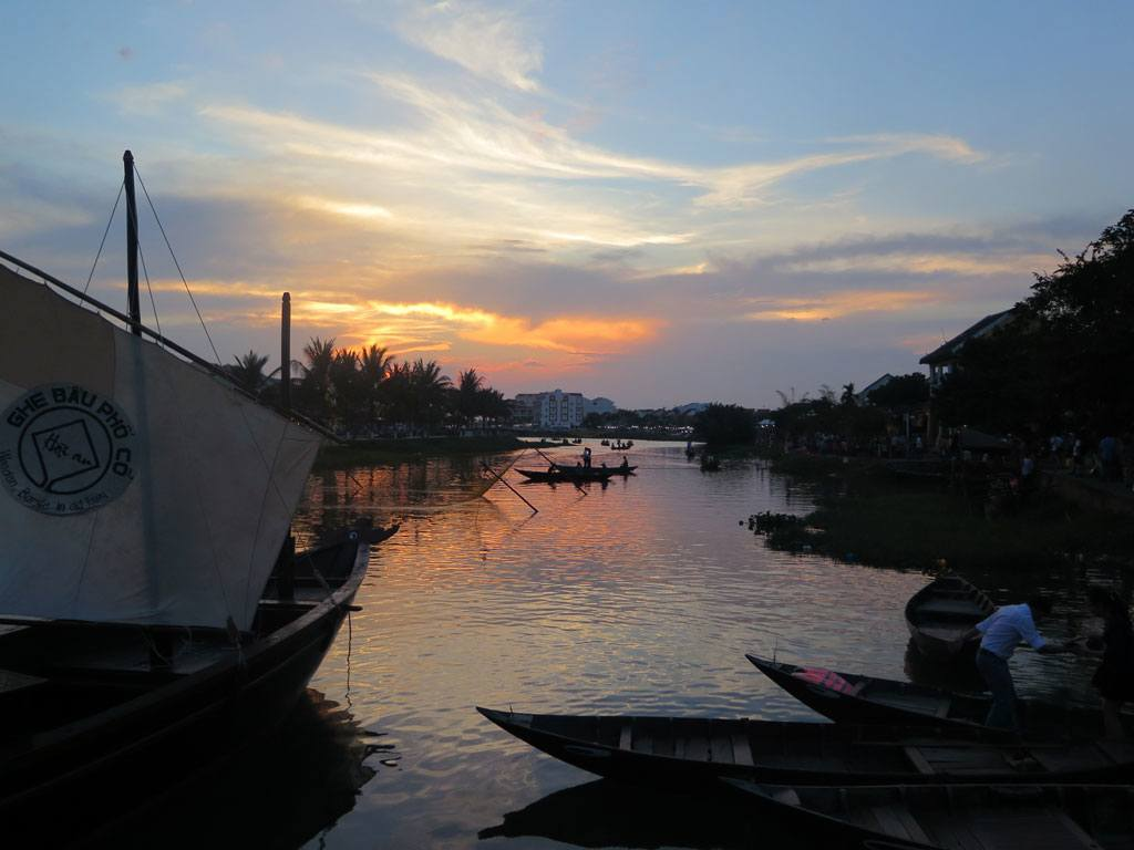 Sunset - Hoi An