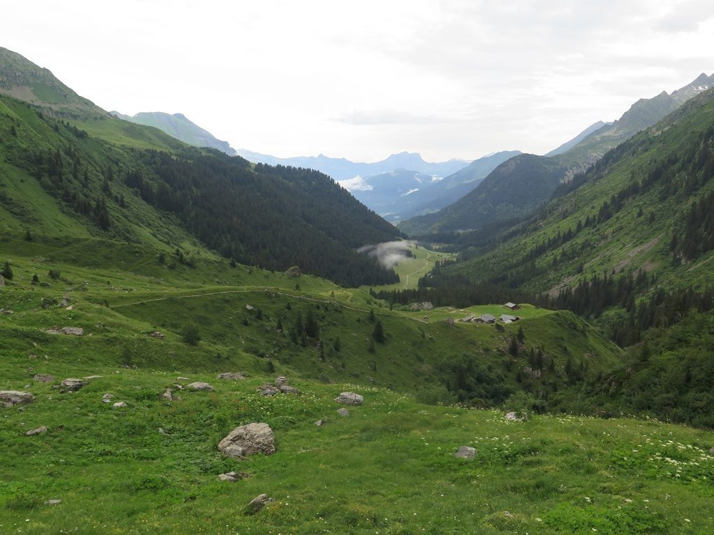Up to Col du Bonhomme