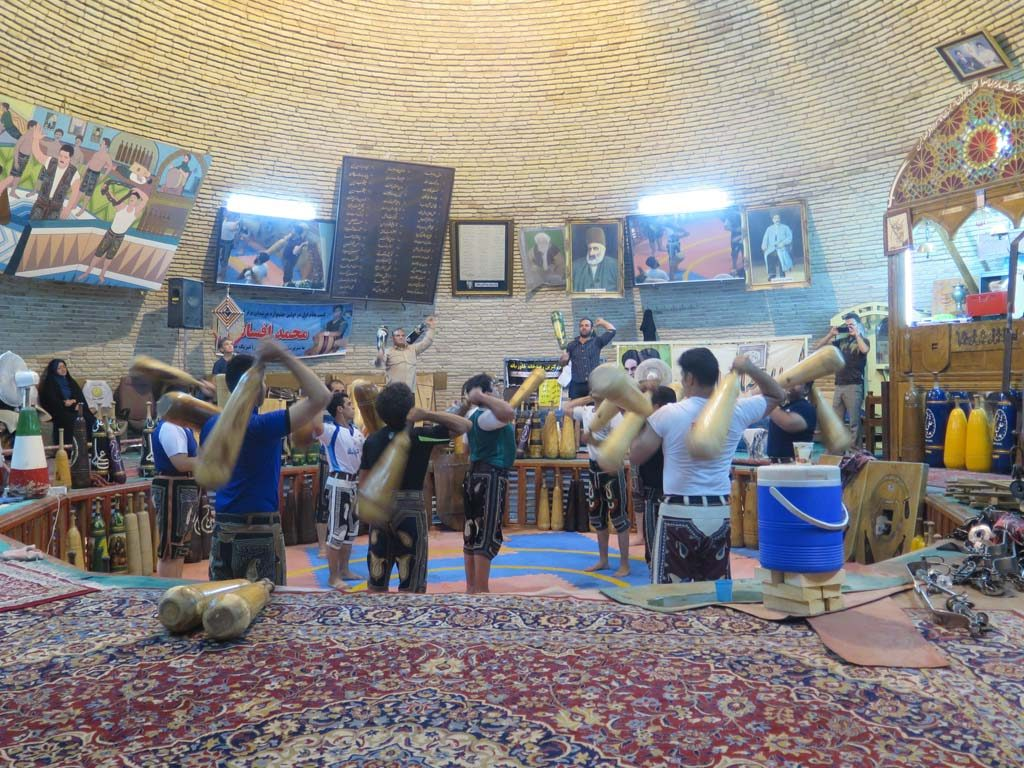 Pahlevāni and zoorkhāneh rituals, Yazd