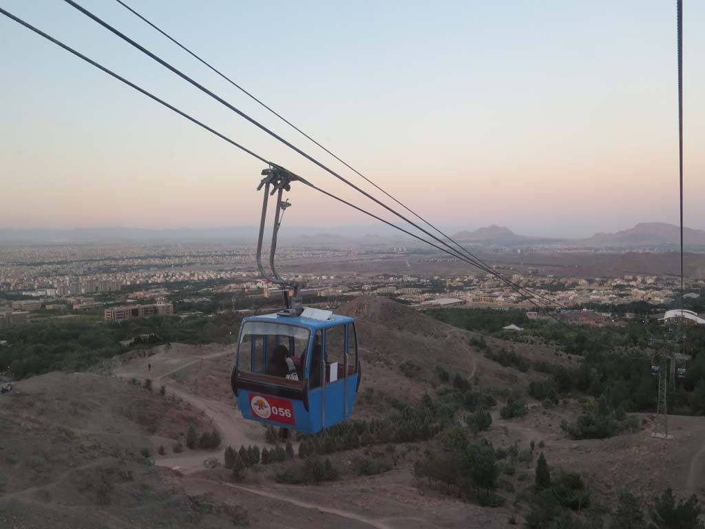 Cable car, Esfahan